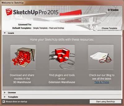 SketchUp Pro 2015 15.1.105