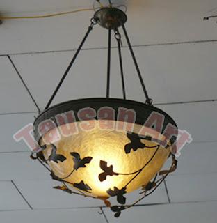Lampu Daun