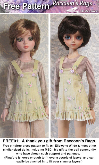 http://www.craftsy.com/pattern/sewing/toy/free-pinafore-for-ellowyne--msd/147836