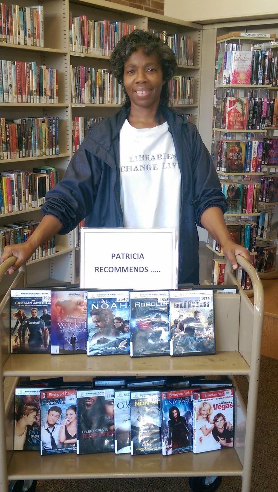 photo of Ms. Patricia