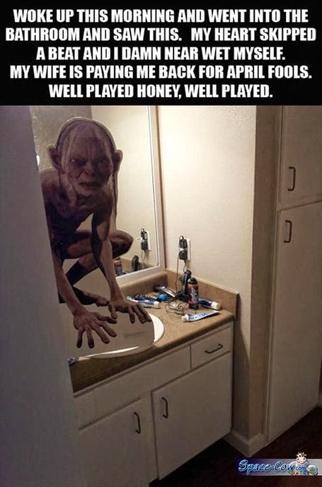 funny things Gollum picture