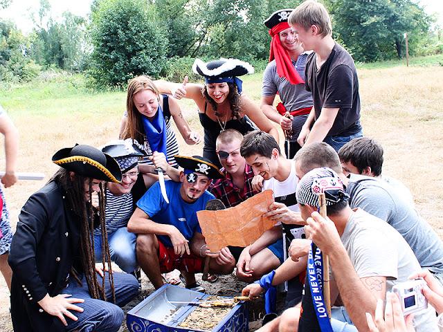 пираты вечеринка