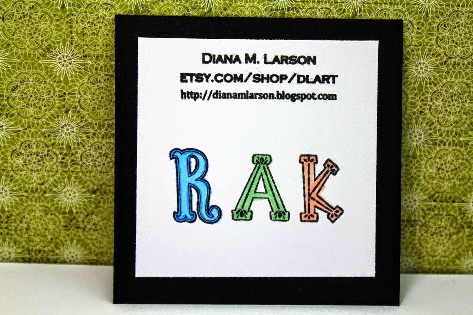 http://dianamlarson.blogspot.com/
