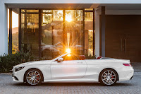 Mercedes-AMG S 63 4Matic Cabriolet (2016) Side