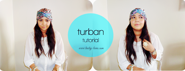 turban, scarf, tutorial, how to tie