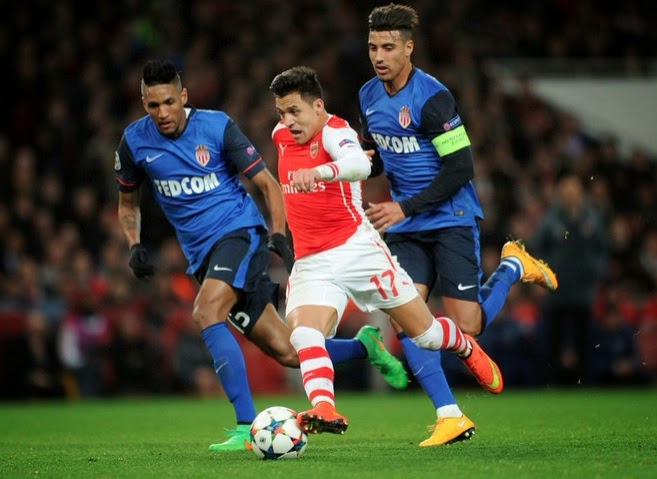Arsebal 1-3 Monaco Full Highlights