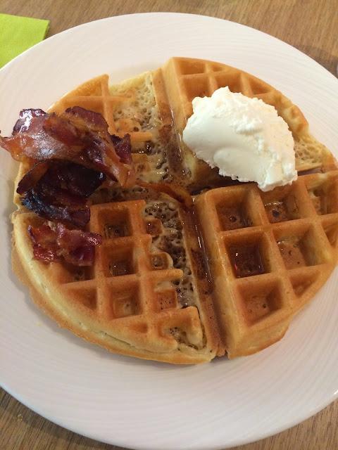 breakast waffles hotel birger sweden stockholm