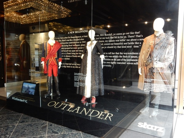 Outlander TV costume exhibit
