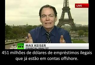 Análise Crise Dívida Euro; Portugal; Irlanda; Grécia, Escravos da Máquina de Terror FMI; Análise do Economista Max Keiser; Homem Amado Pelo Povo; Alvo do Ódio dos Bandidos dos Bancos