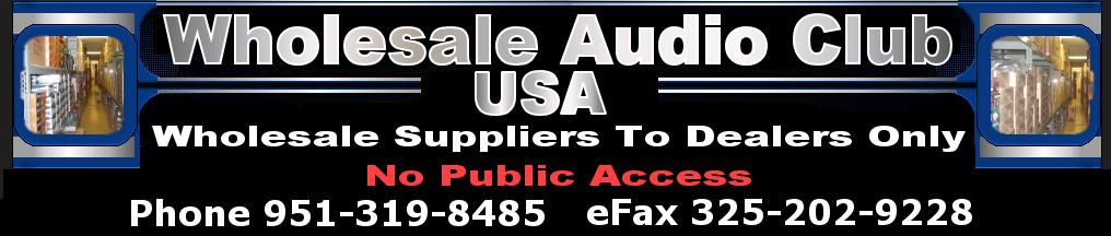 200+ Real Wholesale Car Audio & Electronics Distributors