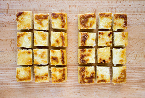 Gluten Free Blondie: How to Make Crispy Pan-Fried Tofu like a CHAMP