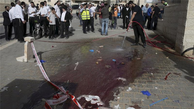 Palestinian shot dead after alleged stabbing