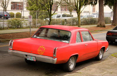 1967 Plymouth Valiant 2-door sedan.