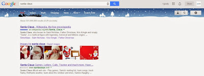 Google Santa Claus Magic