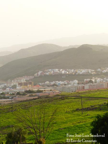 Fotos calima Gran Canaria 13 noviembre, José Luis Sandoval