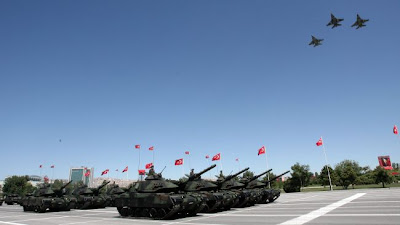 la proxima guerra despliegue militar ejercicios militares juegos de guerra turquia frontera siria