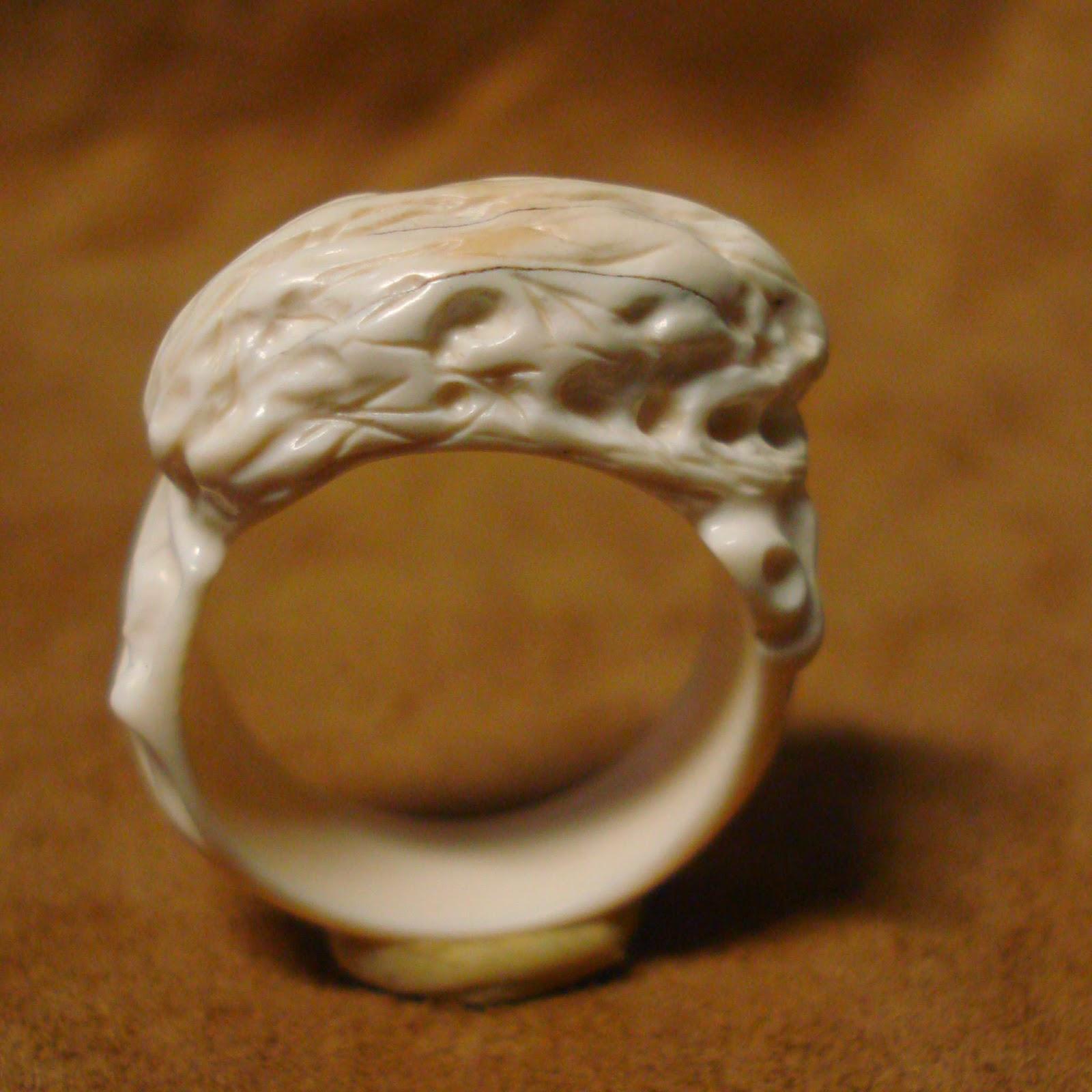 выдана для кольцо из кости мамонта первый пляж