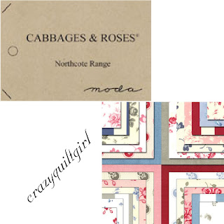 Moda NORTHCOTE RANGE Quilt Fabric by Cabbages & Roses