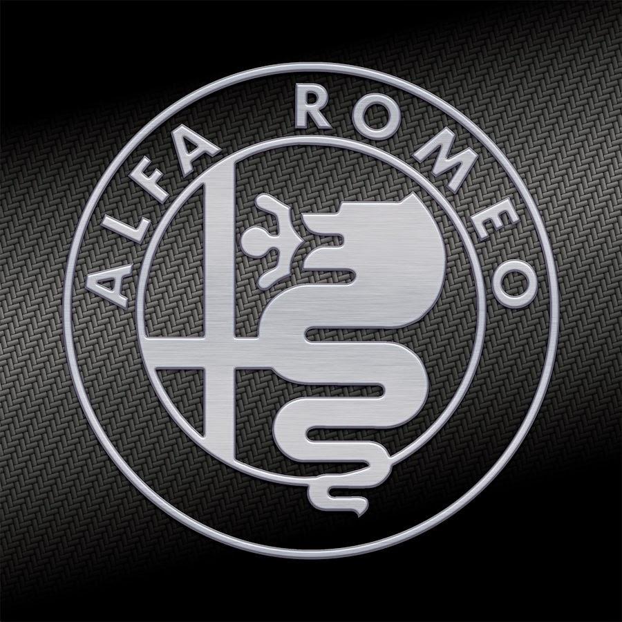 alfa romeo logo carbon kevlar