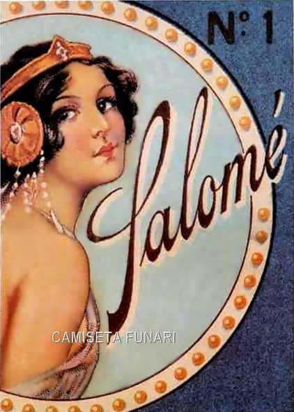 salome vintage illustration