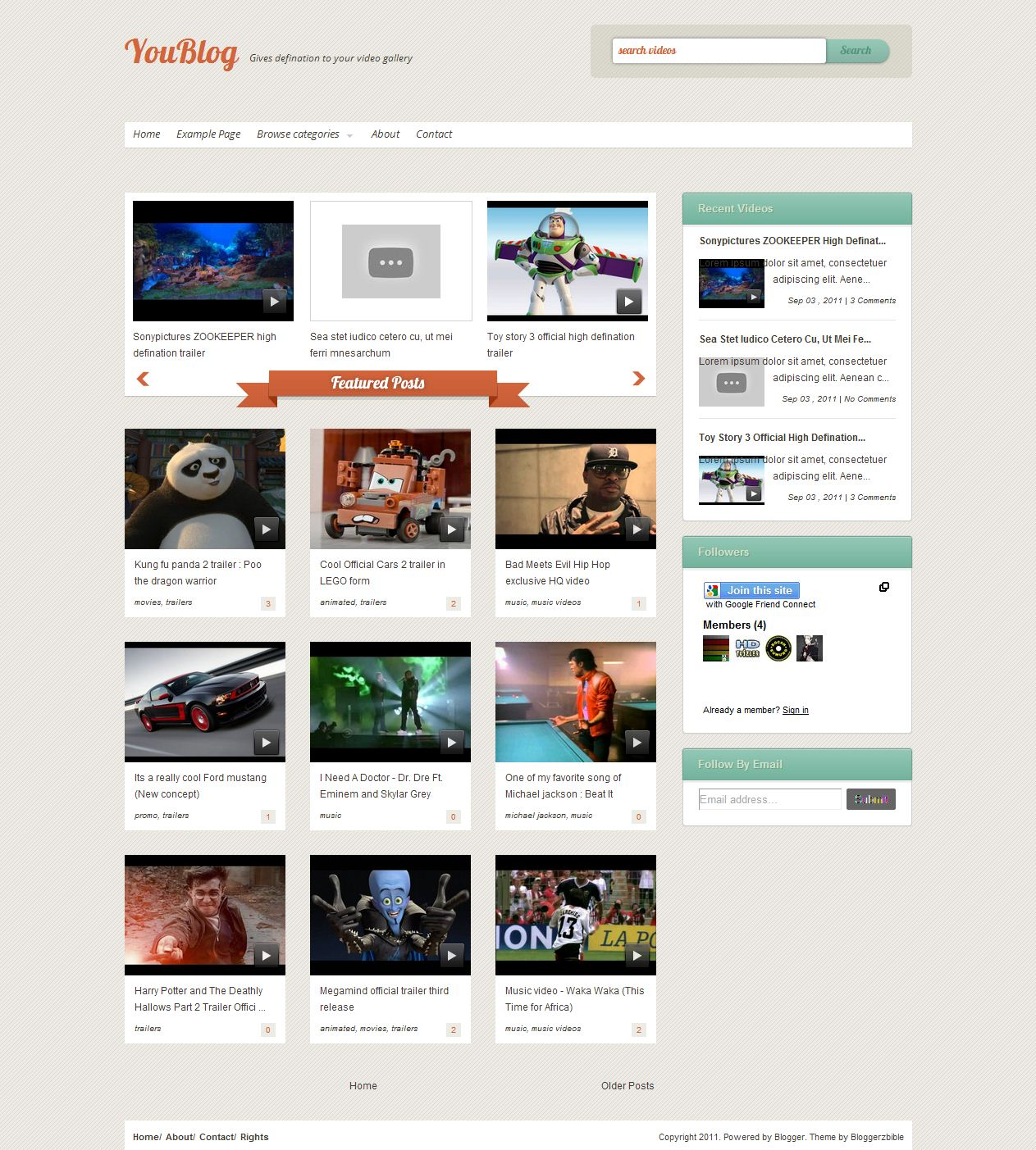Maknyus download 7 template blogger wallpaper mas for Photo gallery html template free download