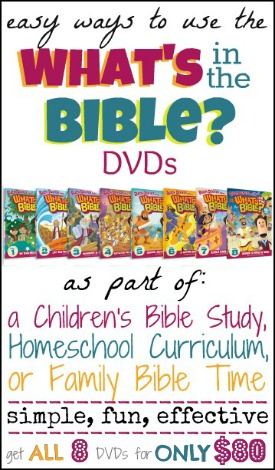 Easy Ways to Teach with the What's in the Bible? DVDs