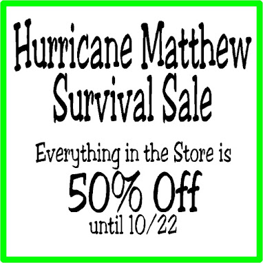 Hurricane Matthew Sale
