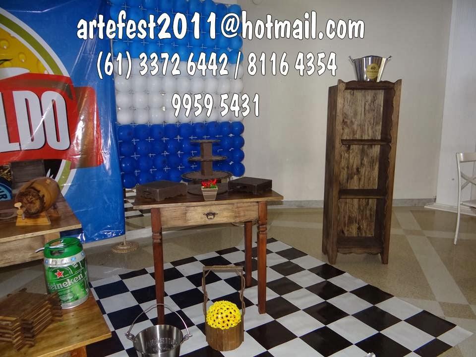 festa boteco decoracao rustica : festa boteco decoracao rustica:ARTEFEST – DECORAÇÃO PROVENÇAL: Kit boteco – Mesa Rústica