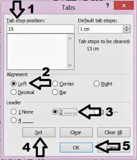 Membuat daftar isi menggunakan microsoft office word 2003, 2007, 2010, 2013 lengkap dengan gambar tutorial