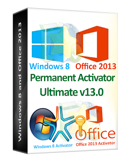 Windows 8 and Office 2013 Permanent Activator Ultimate v13.0