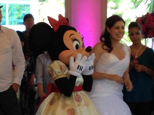 Disneyland Wedding - Minnie