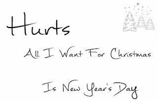 song of the day all i want for christmas is new years day by hurts - All I Want For Christmas Song