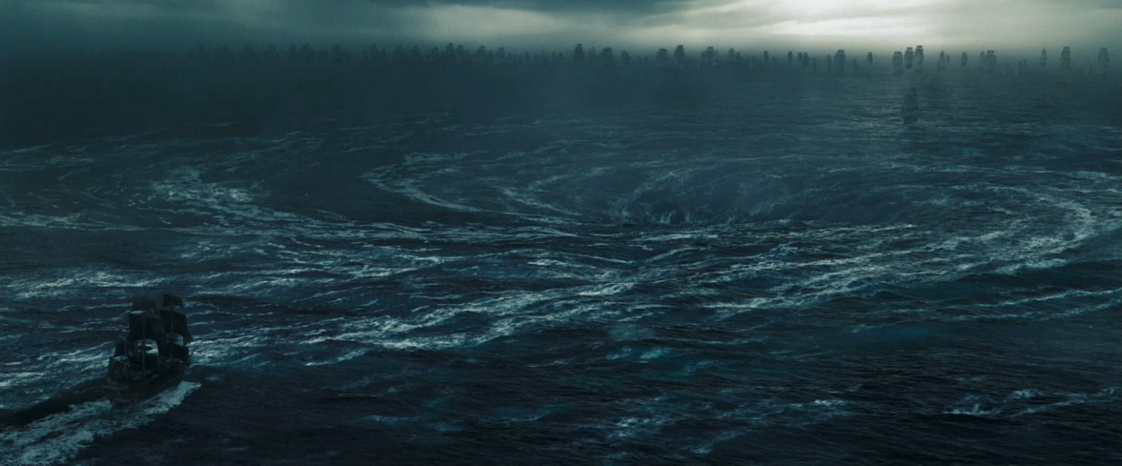 Ocean Maelstrom Detailed Swirling Mael...
