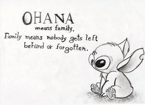 Wordless Wednesday Ohana Means Family