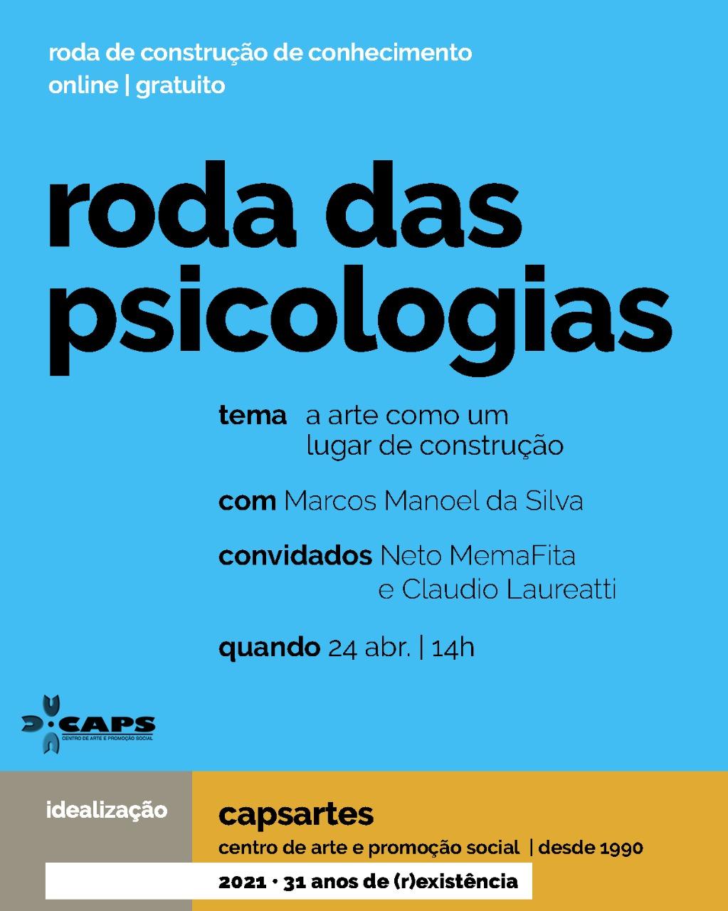 Roda das psicologias