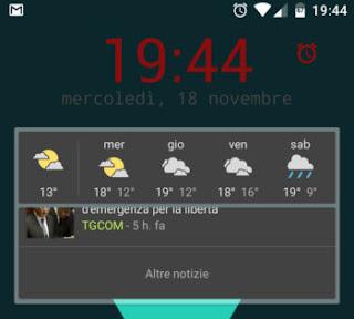 come ho configurato il mio Android