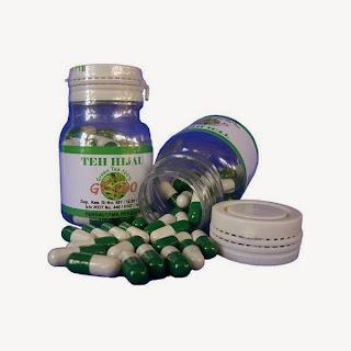 Obat Herbal Teh Hijau Kapsul