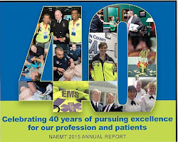 NAEMT is proud to celebrate 40 years of advancing the EMS profession t