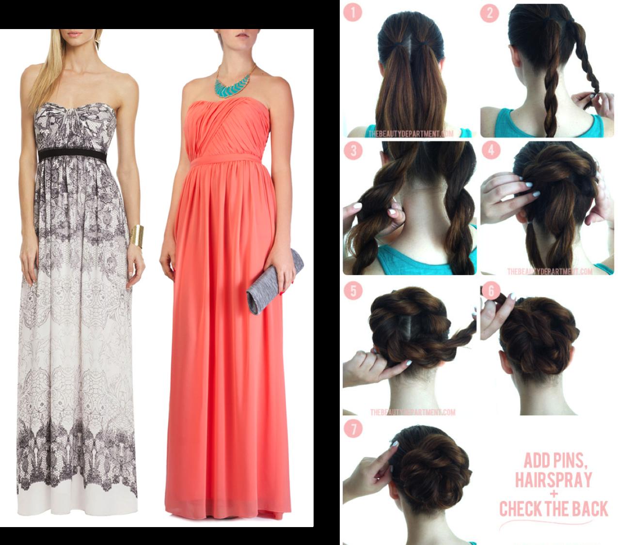 Entre fiestas y vestidos peinados hazlo tu misma para - Ver peinados de fiesta paso a paso ...