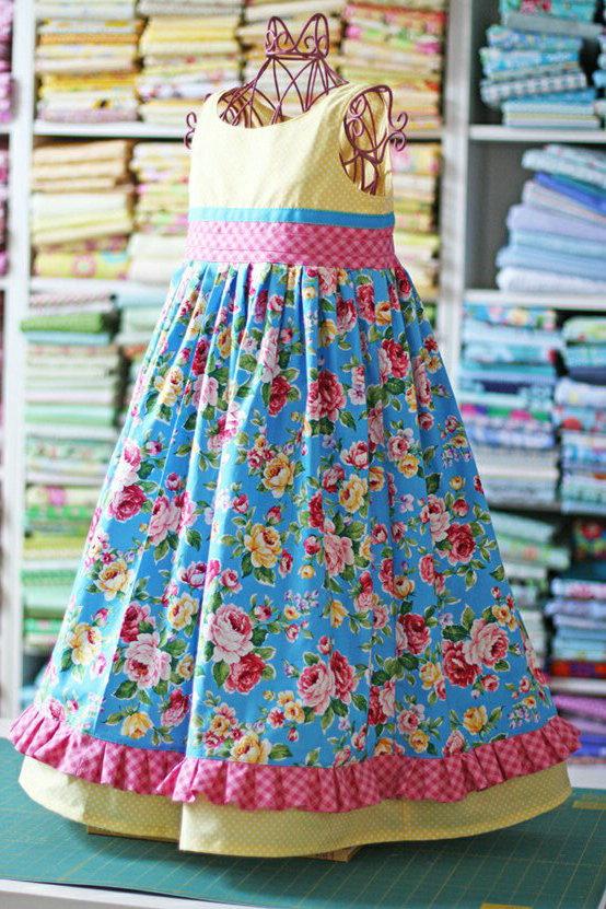 Kimations Olabelhe Inspired Doll Dress