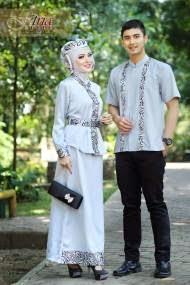 Model Gaun Muslim Couple Modern Terbaru