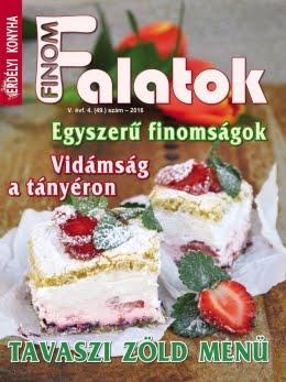 FINOM FALATOK - Recept és Rejtvény