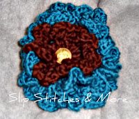 Easy Frilly Crochet Flower Pattern
