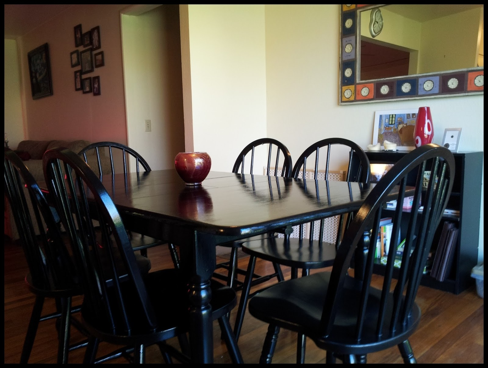 kitchen table redo part 3 and half redo kitchen table I finally finished the kitchen table And just in time to show it off at my birthday party this past weekend I am going to say it