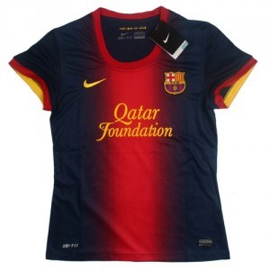 Ladies Jersey Barcelona Home 12/13