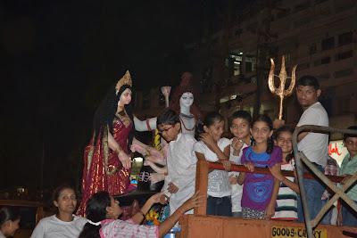 Starting of Ganesh Chaturthi Festival 2012 Surat, Gujarat, India