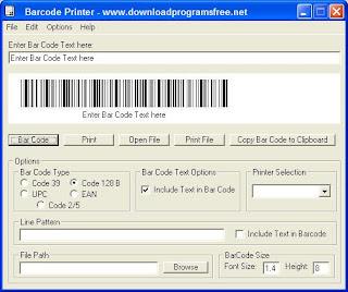 برنامج باركود Barcode Printer