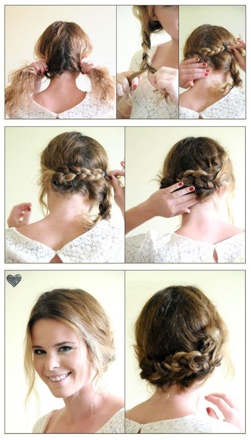 Hairstyles How To Do : ... up- do hairstyle! All you need to do is follow the below steps