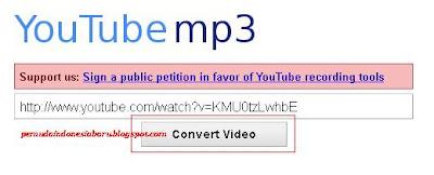 Langkah 1, Kunjungi youtube-mp3.org