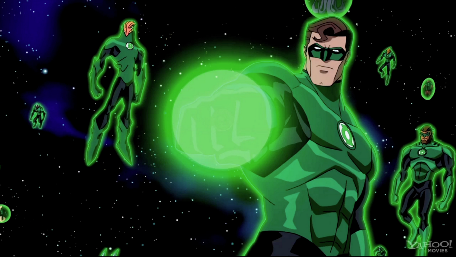green lantern emerald knights dvd information con premiere
